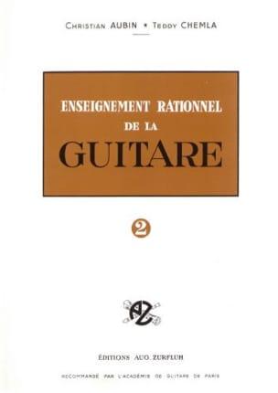 Enseignement rationnel de la guitare - Volume 2 laflutedepan