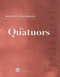 Musique d'ensemble : les quatuors Livre laflutedepan