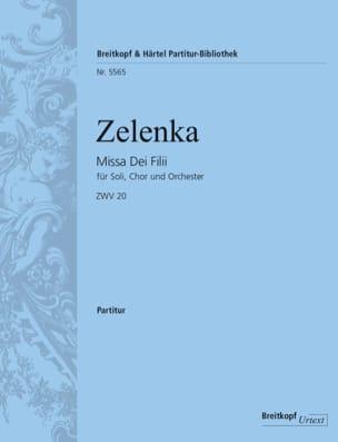 Missa dei Filii - Conducteur Grand Format ZELENKA laflutedepan