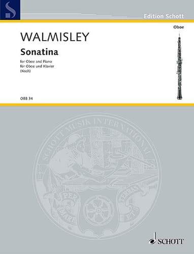 Sonatina -Oboe piano - Thomas Attwood Walmisley - laflutedepan.com