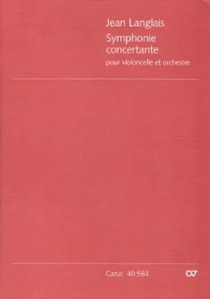 Symphonie concertante op. 20 - Score - laflutedepan.com