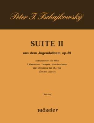 Suite Nr. 2 aus dem Jugenalbum op. 39 - Partitur - laflutedepan.com