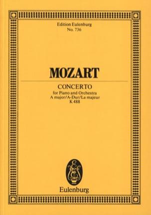 Klavier-Konzert A-Dur KV 488 - Partitur MOZART Partition laflutedepan