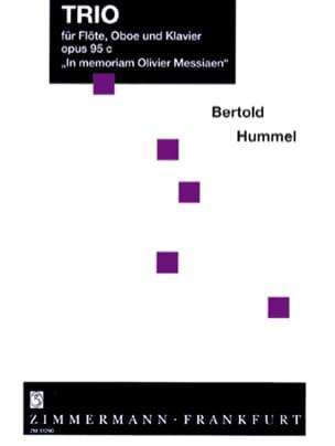 Trio op. 95c - Flöte Oboe Klavier op. 95c HUMMEL laflutedepan