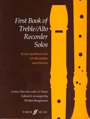 First book of treble recorder solos Walter Bergmann laflutedepan