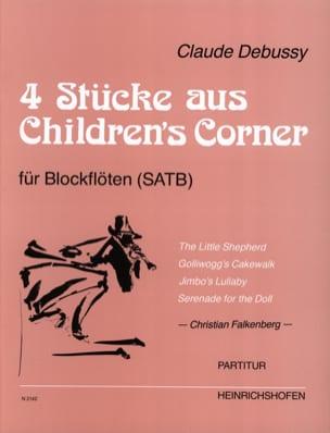 4 Pièces extraites de Children's Corner DEBUSSY Partition laflutedepan