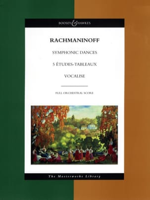 Symphonic Dances - 5 Etudes-Tableaux - Vocalise laflutedepan