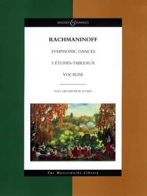 Symphonic Dances - 5 Etudes-Tableaux - Vocalise laflutedepan