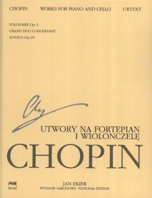 Edizione Nazionale : Works for piano and cello CHOPIN laflutedepan