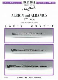 Albion et Albanius -Suite n° 1 Louis Grabut Partition laflutedepan