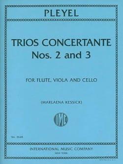 Trios Concertants N° 2 En Ré Maj. et N° 3 En Fa Maj. laflutedepan