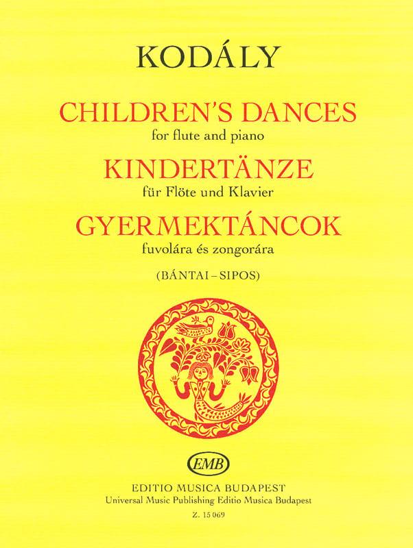 Children's Dances - KODALY - Partition - laflutedepan.com