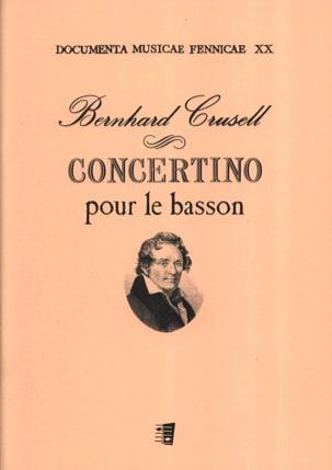 Concertino pour le basson Bernhard Henrik Crusell laflutedepan