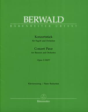 Konzertstück op. 2 -Fagott Klavier Franz Berwald laflutedepan