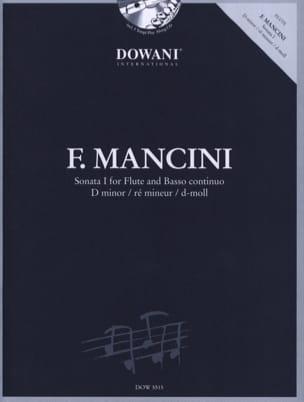 Sonate 1 en ré min. - Flûte et Bc Francesco Mancini laflutedepan
