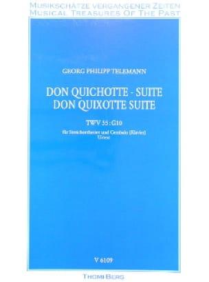 Don Quichotte, Suite - Conducteur - TELEMANN - laflutedepan.com