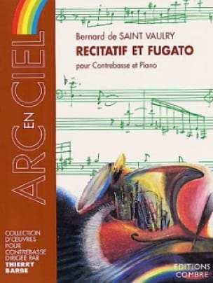 Récitatif et Fugato - Bernard De Saint-Vaulry - laflutedepan.com