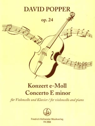 Konzert e-moll op. 24 David Popper Partition laflutedepan
