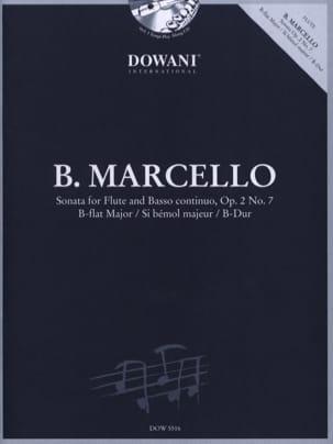 Benedetto Marcello - Sonata sib maj. op. 2 n ° 7 - Flute and Bc - Partition - di-arezzo.com