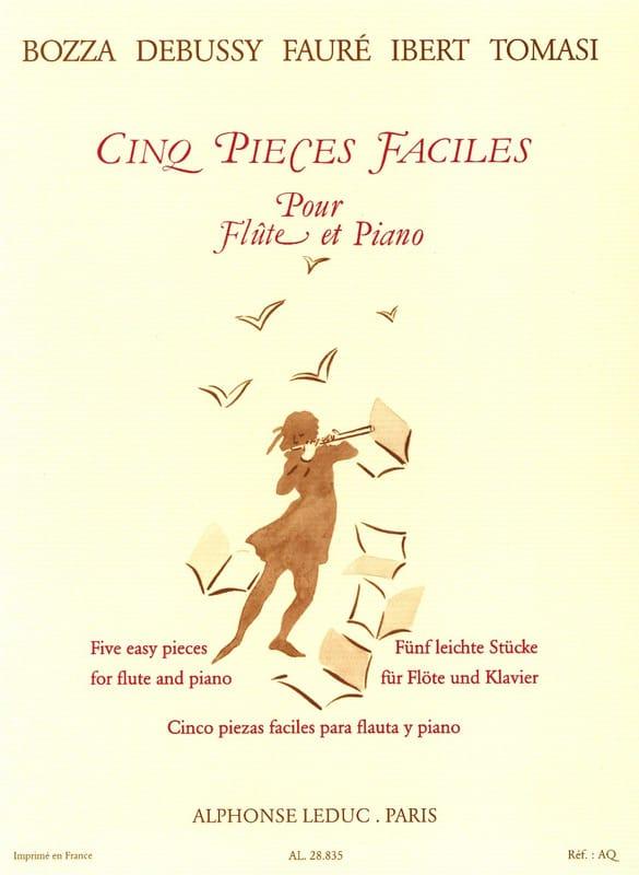 Cinq pièces faciles - Flûte et piano - laflutedepan.com