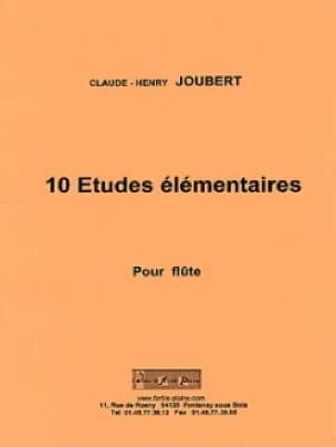 10 Etudes Elémentaires Flûte Solo - laflutedepan.com