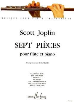 7 Pièces - Flûte piano JOPLIN Partition laflutedepan