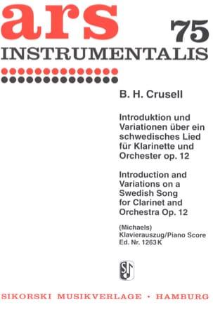 Introduktion und Variationen über ein schwedisches Lied Op. 12 laflutedepan