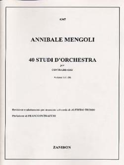 40 Studi D'orchestra Volume 1 - Contrabbasso laflutedepan
