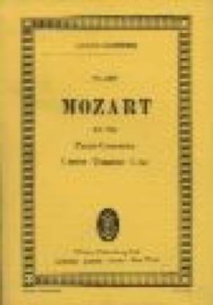 Klavier-Konzert C-Dur - Kv 246 - MOZART - Partition - laflutedepan.com