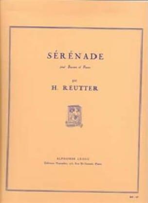 Sérénade - Hermann Reutter - Partition - Basson - laflutedepan.com