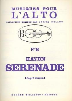 Sérénade - Alto HAYDN Partition Alto - laflutedepan