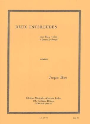 2 Interludes IBERT Partition Trios - laflutedepan