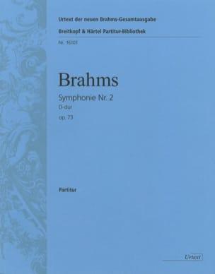 Symphonie N° 2 D-Dur Op. 73 - Conducteur BRAHMS Partition laflutedepan