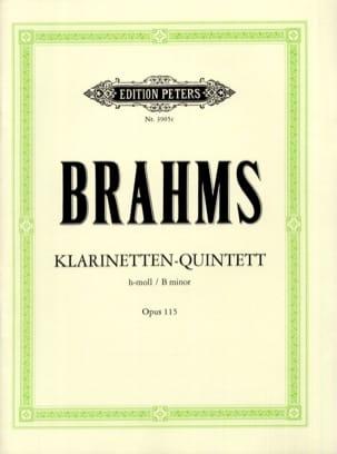 Klarinetten-Quintett h-moll op. 115 -Stimmen BRAHMS laflutedepan