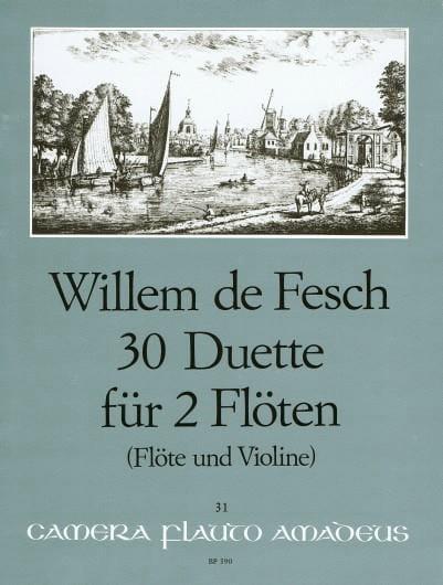 30 Duette op. 11 - 2 Flöten o. Flöte u. Violine - laflutedepan.com