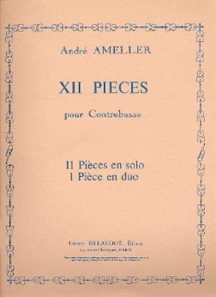 12 Pièces pour Contrebasse - André Ameller - laflutedepan.com