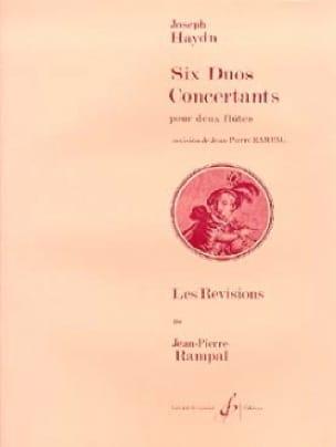 6 Duos concertants - 2 Flûtes - HAYDN - Partition - laflutedepan.com