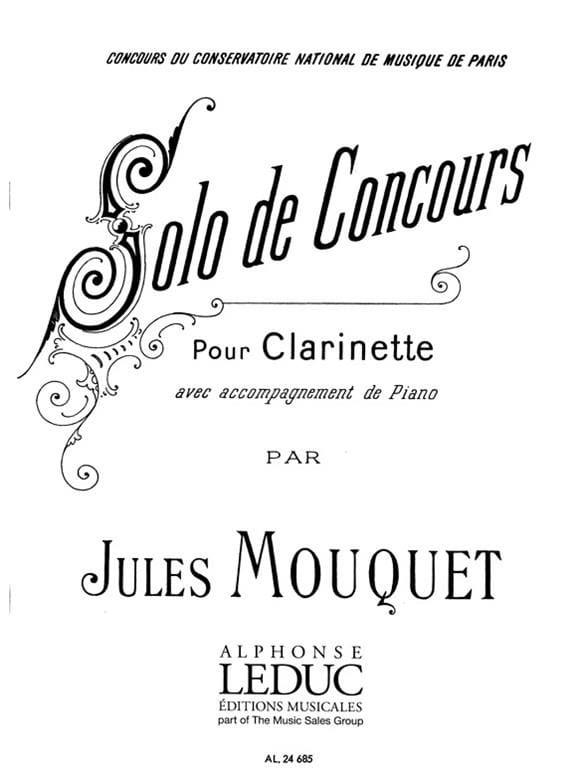Solo de concours - Jules Mouquet - Partition - laflutedepan.com