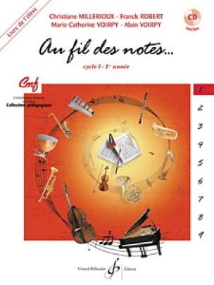 Au Fil des Notes - Volume 1 - Elève - laflutedepan.com