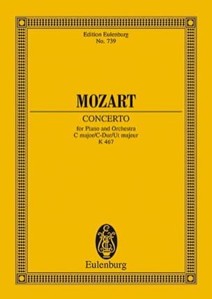 Klavierkonzert Nr. 21 C-Dur KV 467 - Partitur MOZART laflutedepan