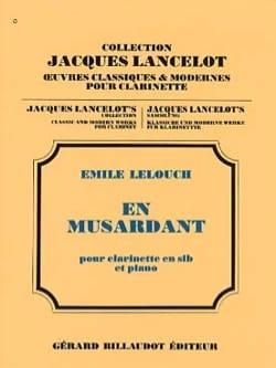 En musardant Emile Lelouch Partition Clarinette - laflutedepan