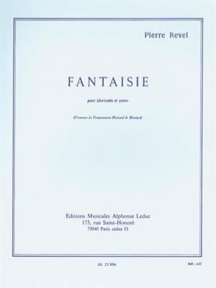 Fantaisie Pierre Revel Partition Clarinette - laflutedepan