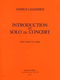 Introduction et Solo de Concert Marius Casadesus laflutedepan