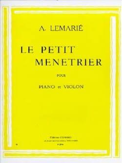 Le petit ménétrier Amédée Lemarié Partition Violon - laflutedepan