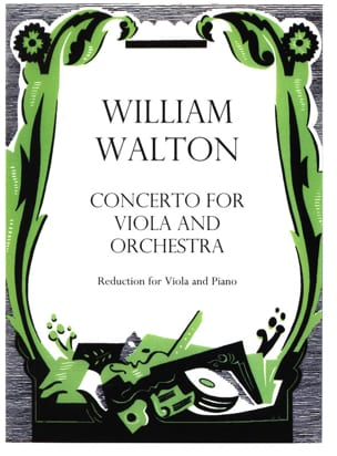 Concerto for viola and orchestra William Walton Partition laflutedepan