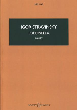 Igor Stravinsky - Pulcinella, Ballet - Partition - di-arezzo.com