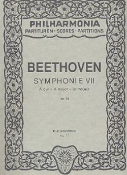 Symphonie Nr. 7 A-Dur op. 92 - Partitur - BEETHOVEN - laflutedepan.com