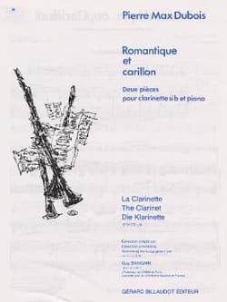 Romantique et Carillon Pierre-Max Dubois Partition laflutedepan