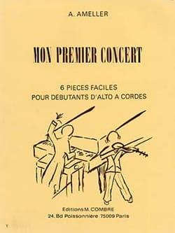Mon premier concert André Ameller Partition Alto - laflutedepan