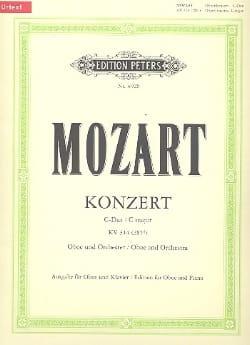 MOZART - Konzert D-Dur for Oboe KV 314 - Oboe Klavier - Partition - di-arezzo.com